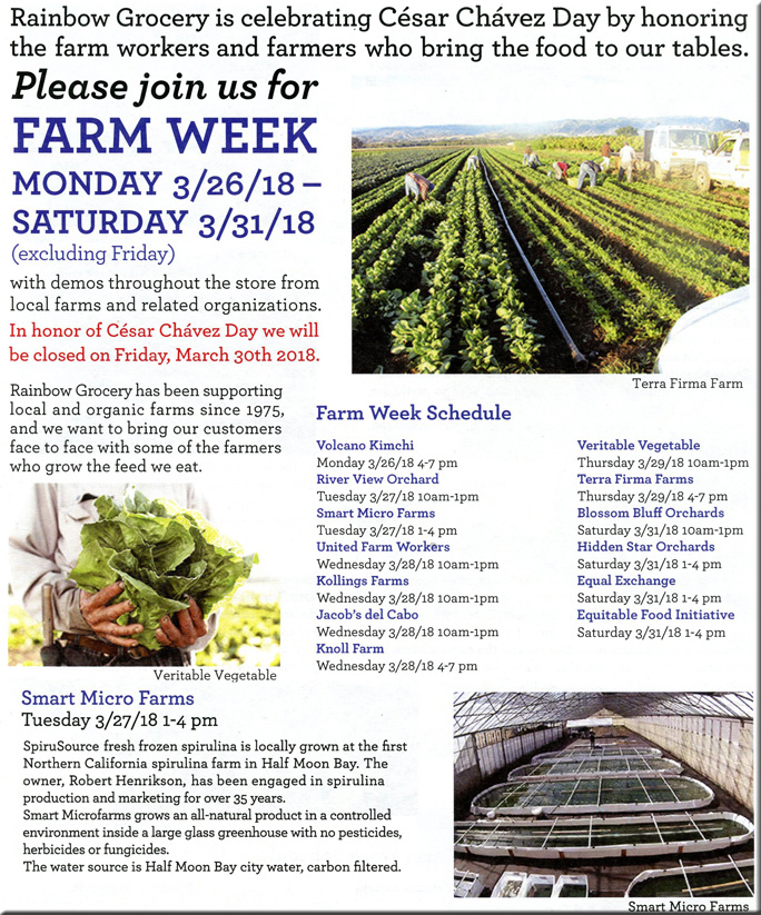 Rainbow Farm Week